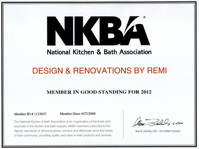 Certified Kitchen Designer Exam